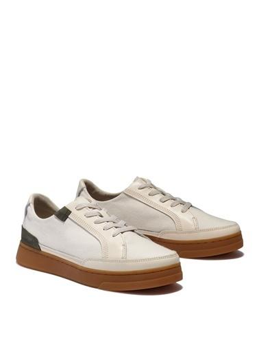 Timberland Timberland Kadın Bağcıklı Beyaz Sneaker Beyaz